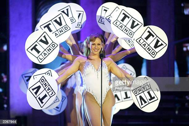 Dancers perform during the TV Land Awards 2003 at the Hollywood Palladium on March 2 2003 in Hollywood California