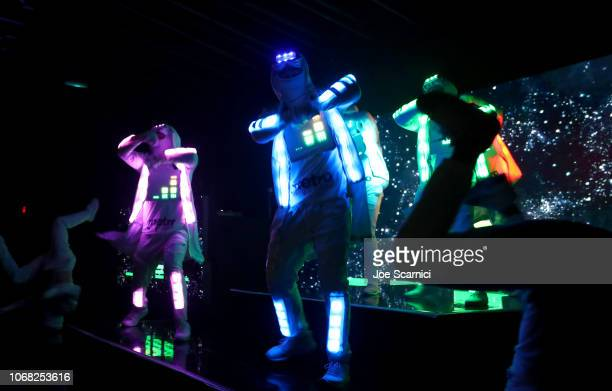 Dancers perform onstage during Metro By TMobile Presents Live In LA Powered By Pandora Featuring Cardi B And Jhené Aiko at Academy Nightclub on...