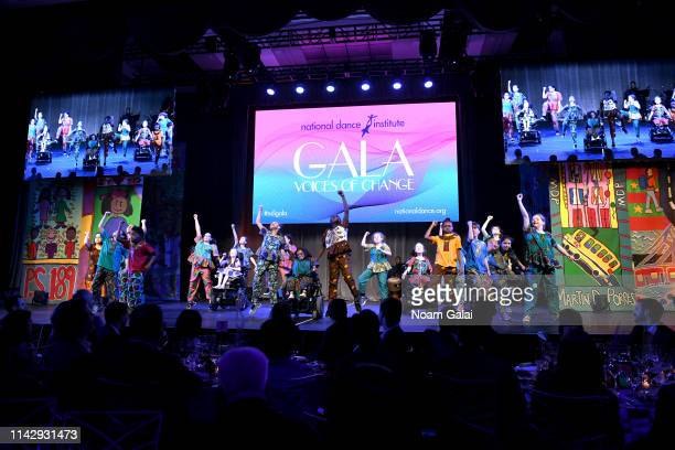 NDI dancers perform onstage during the National Dance Institute's 43rd Annual Gala at Ziegfeld Ballroom on April 15 2019 in New York City