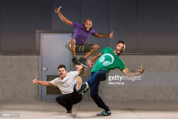 dancers performing - breakdancing stock photos and pictures