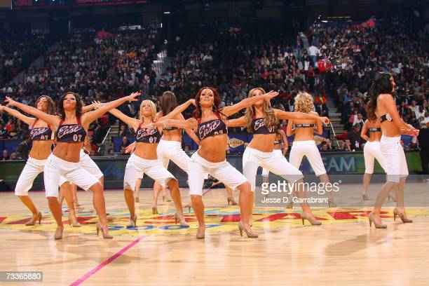 Dancers performs during the 2007 NBA AllStar Game on February 18 2007 at the Thomas Mack Center in Las Vegas Nevada NOTE TO USER User expressly...