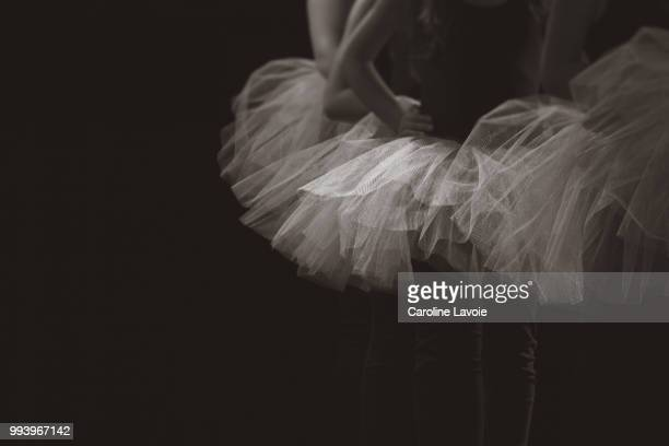 dancers - tulle netting stock pictures, royalty-free photos & images