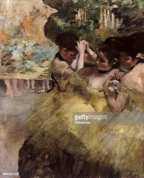 Dancers Preparing For the Ballet Degas Edgar