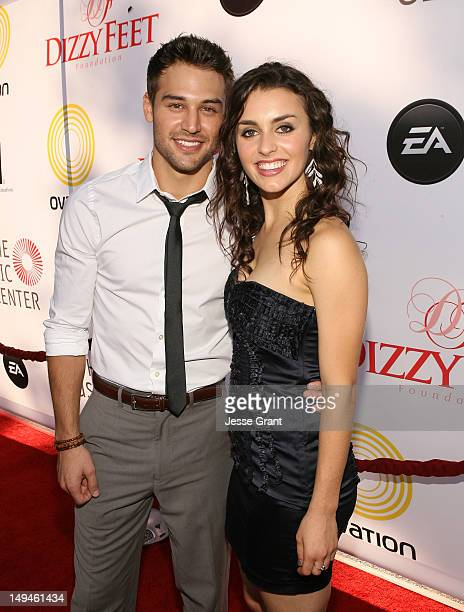 "Dancers Ryan Guzman and Kathryn McCormick attend the Dizzy Feet Foundation Second ""Celebration of Dance"" Gala at the Dorothy Chandler Pavilion on..."