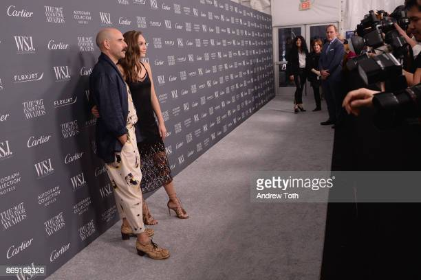 Dancers Ryan Heffington and Maddie Ziegler attend the WSJ. Magazine 2017 Innovator Awards at MOMA on November 1, 2017 in New York City.