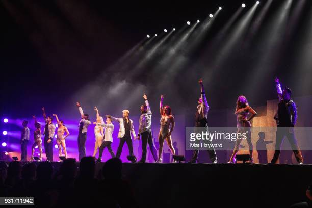 Dancers Sasha Farber Keo Motsepe Artem Chigvintsev Gleb Savchenko Alan Bersten Brandon Armstrong Frankie Muniz Jordan Fisher Jenna Johnson Sharna...