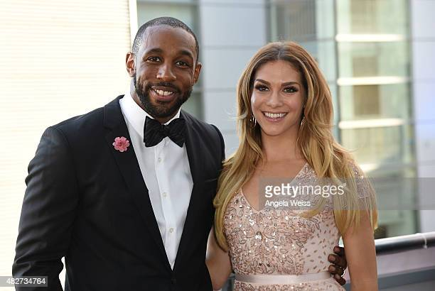 Dancers Stephen 'tWitch' Boss and Allison Holker attend the 5th Annual Celebration of Dance Gala presented By The Dizzy Feet Foundation at Club Nokia...