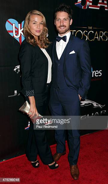 Dancers Tahyna Tozzi and Tristan McManus attend the 7th Annual Toscars Awards Show at the Egyptian Theatre on February 26 2014 in Hollywood California
