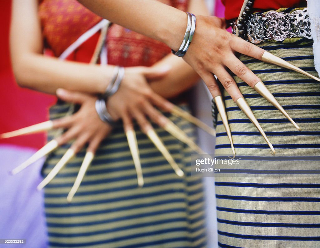 Dancers Wearing Traditional Costume : Stock Photo