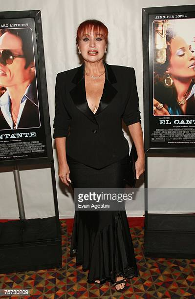 "Dancer/singer Iris Chacon attends the premiere of ""El Cantante"" at the 42nd street AMC Theatre on July 26, 2007 in New York City."