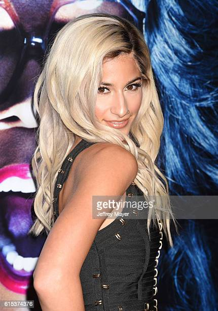 Dancer/singer Lexy Panterra attends the premiere of Lionsgate's 'Boo A Madea Halloween' at the ArcLight Cinerama Dome on October 17 2016 in Hollywood...