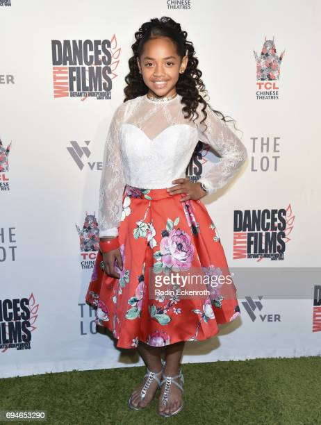 Dancer/singer Nancy Fifita attends the 20th Annual Dances with Films premiere of Hear Me Out at TCL Chinese Theatre on June 10 2017 in Hollywood...