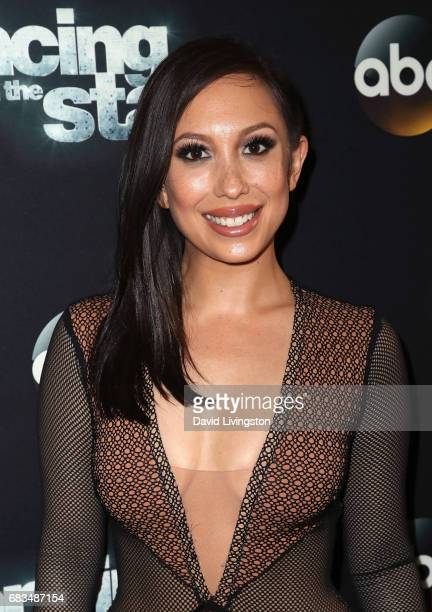 Dancer/TV host Cheryl Burke attends 'Dancing with the Stars' Season 24 at CBS Televison City on May 15 2017 in Los Angeles California