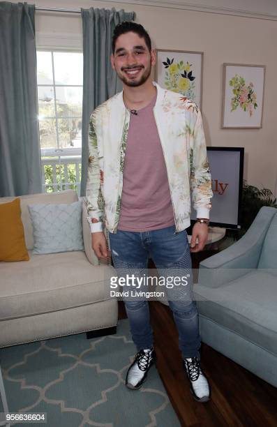 Dancer/TV personality Alan Bersten visits Hallmark's 'Home Family' at Universal Studios Hollywood on May 9 2018 in Universal City California