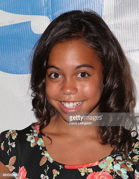 Dancer/TV personality Asia Monet Ray attends the 1027 KIIS FM's Annual Teen Choice PreParty at W Los Angeles Westwood on August 14 2015 in Los...