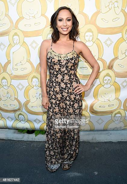Dancer/tv personality Cheryl Burke attends the Wanderlust Hollywood Grand Opening on July 22 2015 in Los Angeles California