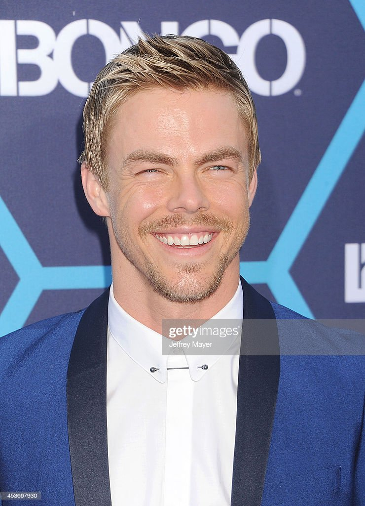 Dancer/TV personality Derek Hough arrives at the 16th Annual Young Hollywood Awards at The Wiltern on July 27, 2014 in Los Angeles, California.