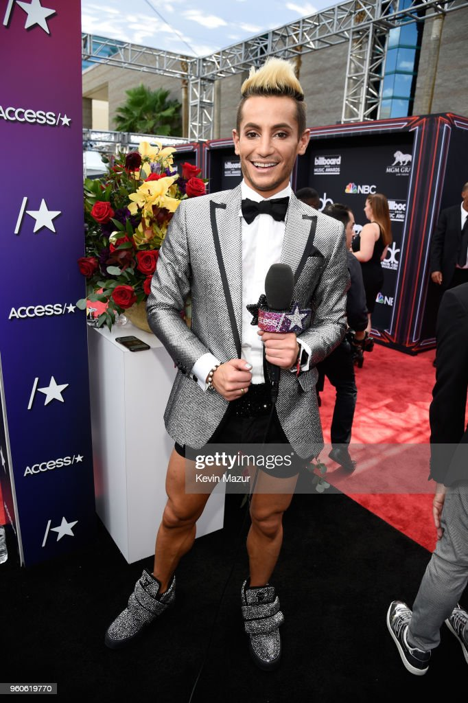 Dancer-TV personality Frankie Grande attends the 2018 Billboard Music Awards at MGM Grand Garden Arena on May 20, 2018 in Las Vegas, Nevada.