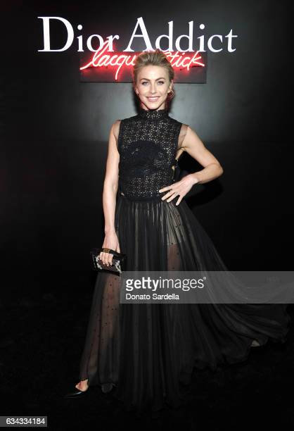 Dancer/TV personality Julianne Hough attends Dior Beauty celebrates the launch of Dior Addict Lacquer Stick in the presence of Peter Philips in LA at...