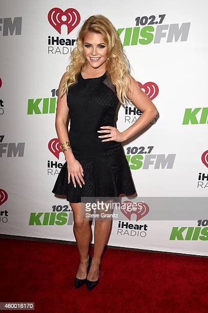 Dancer/TV personality Witney Carson attends KIIS FM's Jingle Ball 2014 powered by LINE at Staples Center on December 5 2014 in Los Angeles California