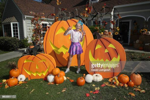 Dancer/TV personality/author JoJo Siwa attends Hallmark's 'Home Family' at Universal Studios Hollywood on October 12 2017 in Universal City California