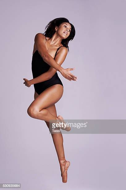 dance's the joy of movement and the heart of life - bodysuit stock pictures, royalty-free photos & images