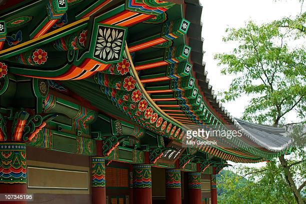 Danchoeng of temple at UNESCO heritage