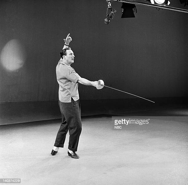 OMNIBUS Dancing A Man's Game Aired Pictured Actor/dancer Gene Kelly Photo by NBCU Photo Bank