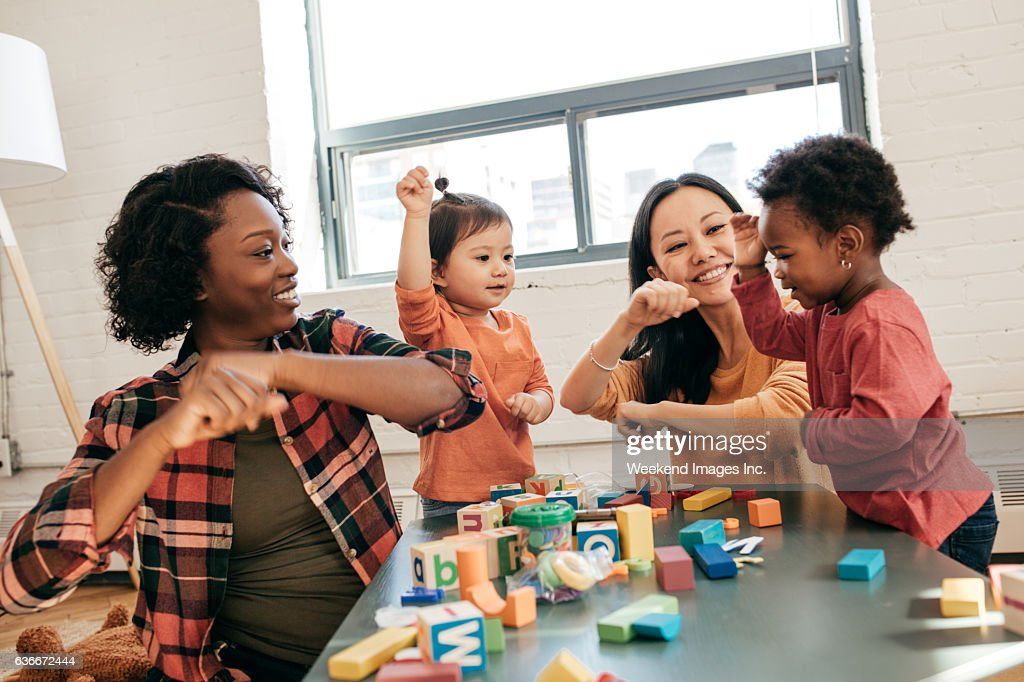 dancing as a part of development : Stock Photo