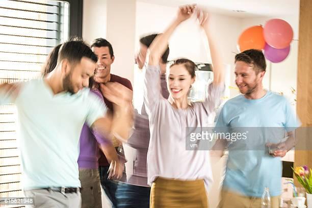 Danse lors d'une fête