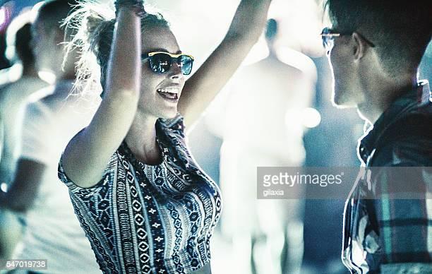Danse au concert.