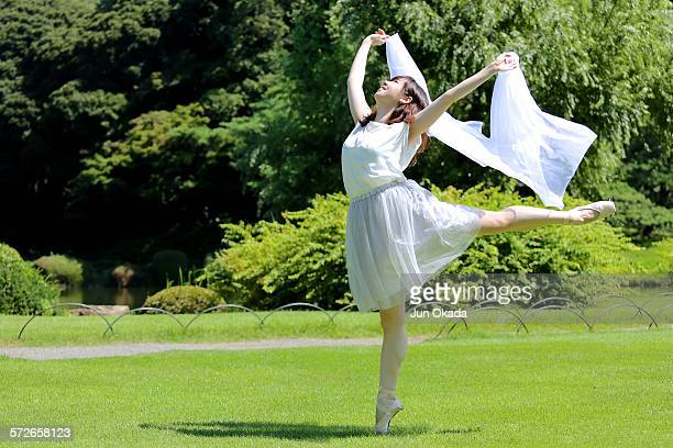 Dancing at park