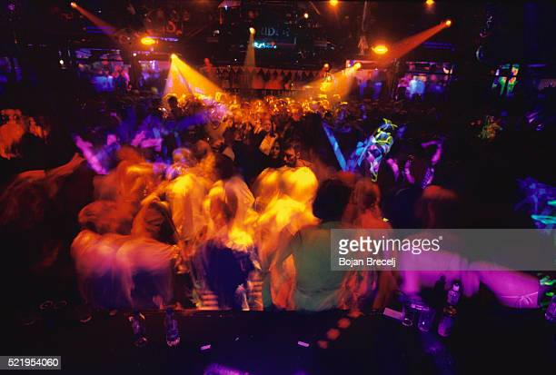 dancing at the fridge nightclub - brixton stock pictures, royalty-free photos & images