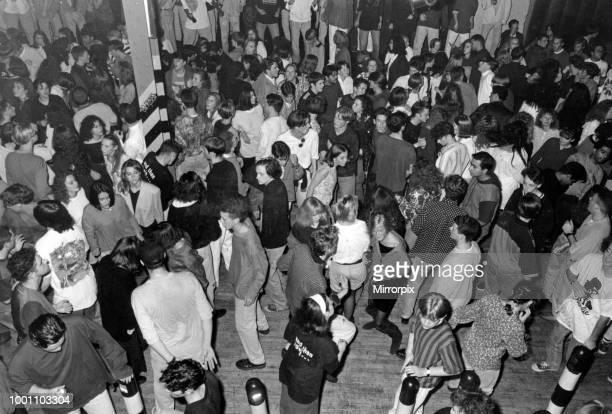 Dancing at the Hacienda nightclub 1st October 1990