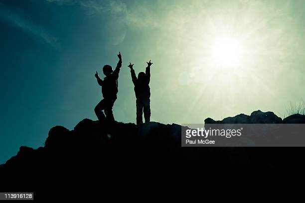 dancing at the summit - fife scotland stock pictures, royalty-free photos & images
