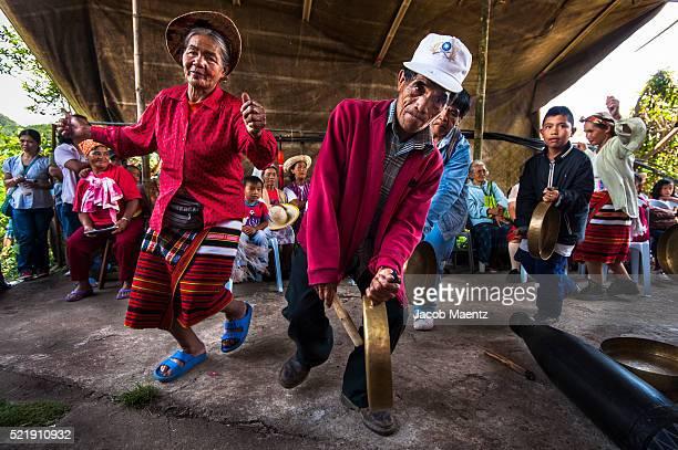 Dancing at traditional Igorot wedding