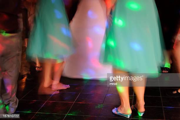 Danse lors d'une réception de mariage