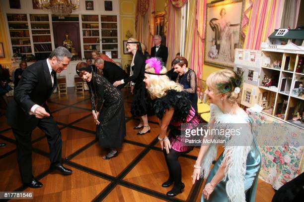 Dancing attends Portrait artist ZITA DAVISSON's Great Gatsby Party A Roaring 20's Evening at Private Residence on October 20 2010 in New York