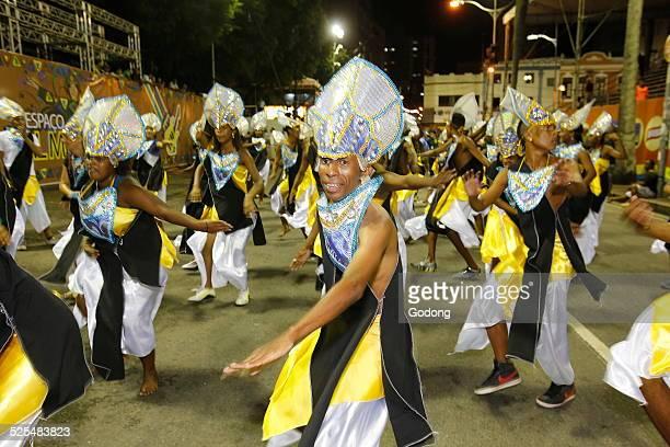 Dancing band at Salvador carnival