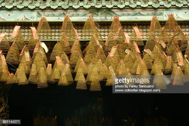 dancing coils - incense coils stock pictures, royalty-free photos & images