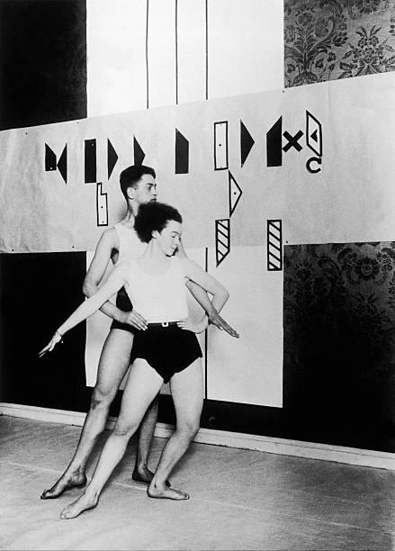 Dancer Of The Laban School Around 1950