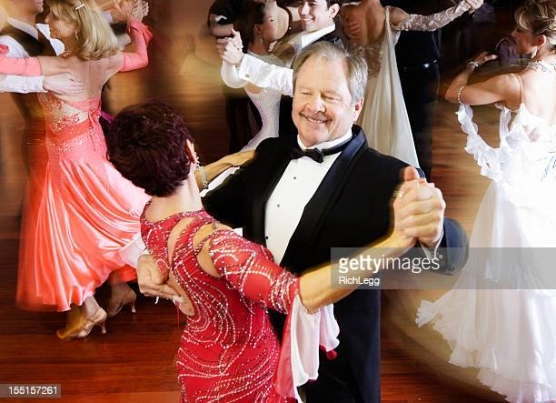 dancing couple - ballroom dancing stock pictures, royalty-free photos & images