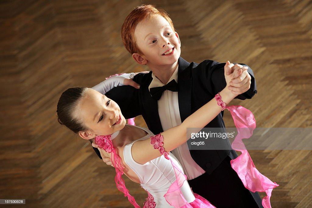 Dancing couple : Stock Photo