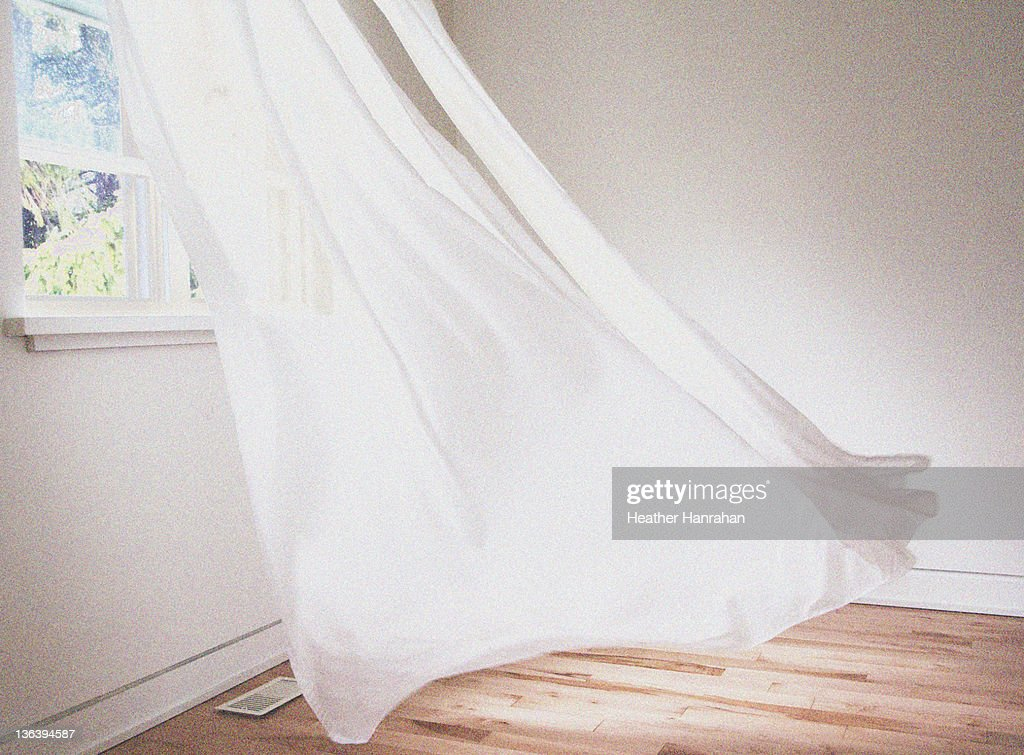 Dancing curtains : Stock Photo