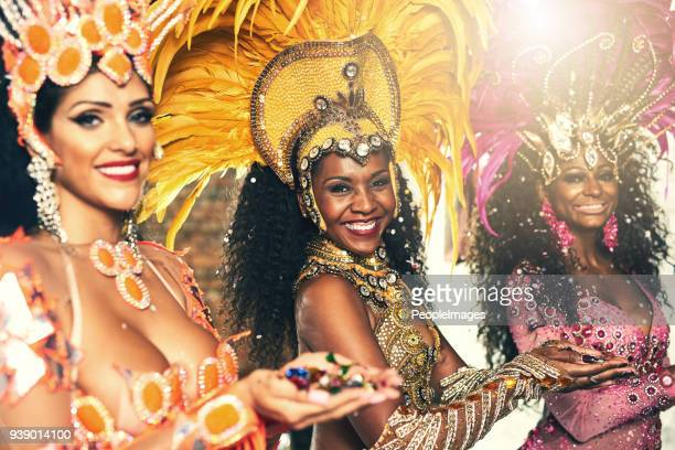 dancing divas - show girl stock photos and pictures