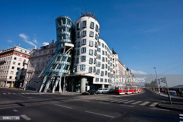 Dancing House By Architect Frank Gehry, Prague, Czech Republic