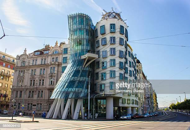 Dancing House in Prague Czech Republic