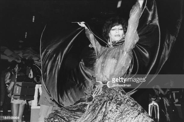 Dancing in a Midtown Manhattan nightclub, New York City, circa 1976.