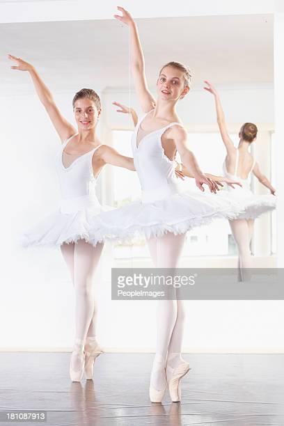 Danse à l'unisson parfait