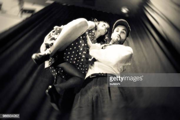 Tanzen in der Diskothek